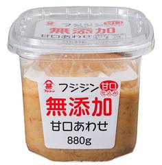 フジジン 無添加甘口あわせ味噌 880g
