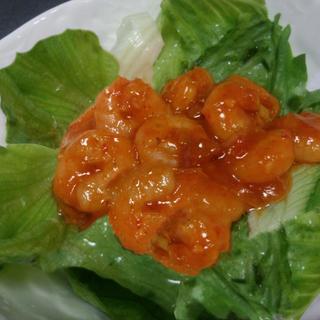 美味☆プリプリ海老のチリソース