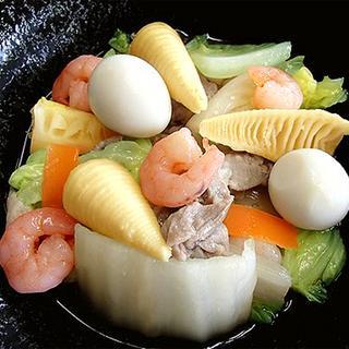 味付けはおだしのみ! 和風八宝菜