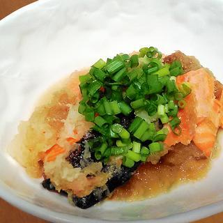 ヘルシー☆ 鮭のおろし煮