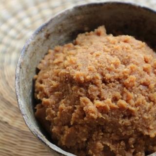 米こうじから作る米みそ