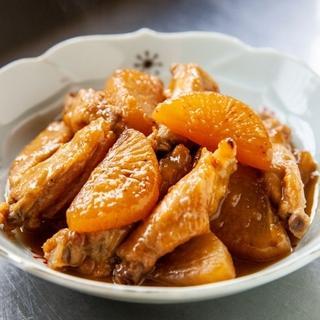 鶏手羽大根 さっぱり極楽煮
