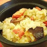 麺つゆで楽々♪ 鮭ときのこの炊き込み御飯