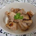 塩糀で簡単味付け、鶏肉の炒め物