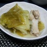 キャベツと鶏手羽の洋風コトコト煮 かぼす風味