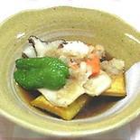 素揚げ野菜のおろし合え 〜しいたけ風味〜