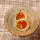 ■だし醤油で簡単 味付き卵