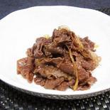 甘くておいしい牛肉のしぐれ煮