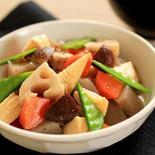 筑前煮 - 煮物の素を使用したお手軽レシピ